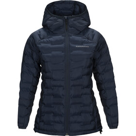 Peak Performance Argon Light Kapuzenjacke Damen blue shadow
